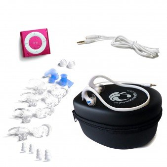 hot-pink-underwater-audio-waterproof-ipod-shuffle-hydroactive-headphone-bundle