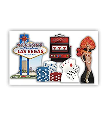 Vegas Party Theme - Advanced Graphics Life Size Cardboard Standup