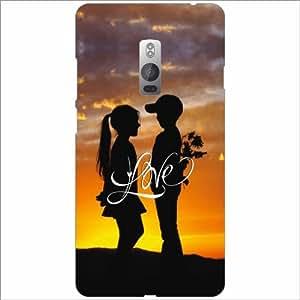 Oneplus 2 Back Cover - Love Zone Designer Cases