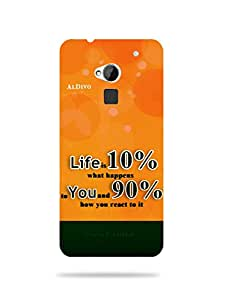 alDivo Premium Quality Printed Mobile Back Cover For HTC ONE MAX / HTC ONE MAX Back Case Cover (MKD1010)