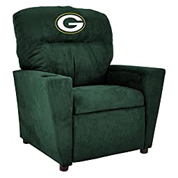 Imperial Officially Licensed NFL Furniture: Pre-Teen Microfiber Recliner, Green Bay Packers