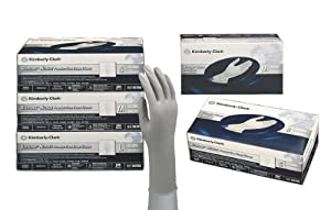 Kimberly-Clark 50706 Model KC300 Nitrile Power-Free Exam Gloves, Disposable, Small, Sterling Gray/Silver (Pack of 200)