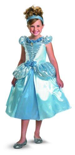 Cinderella Shimmer Deluxe Costume - Medium (7-8)