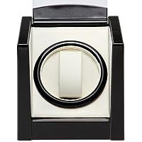 時計巻上/ワインディングマシン ウォッチワインダー KA079 ワインディングマシーン 自動巻きの腕時計に (ブラック)