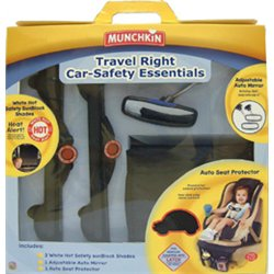 Munchkin Travel Right Car-Safety Essentials