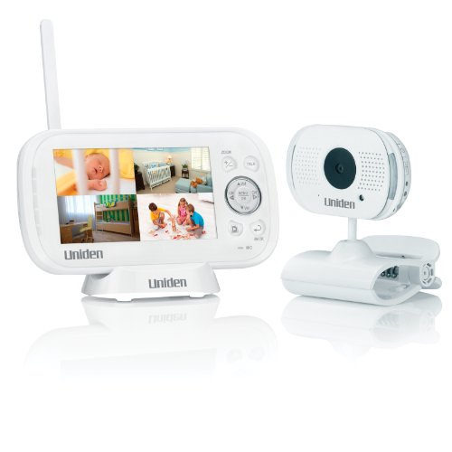 Uniden Ubr243 4.3-Inch Baby Monitor With Indoor Portable Camera (Ubr243)