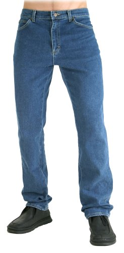 Lee Mens Big & Tall Regular Straight Leg Jean, Pepper Stone,  44W x 30L