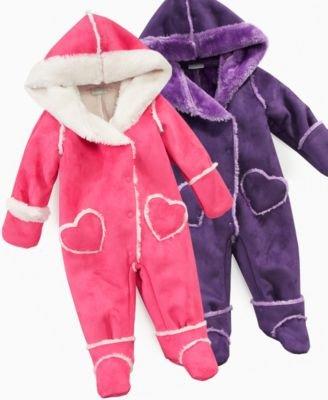 Baby baby girls clothing jackets coats snow wear