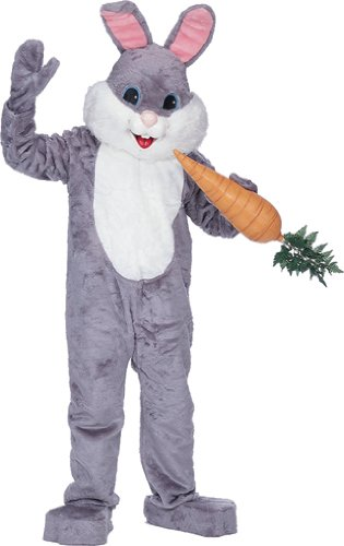 Costumes For All Occasions Cmc101 Premium Rabbit Grey