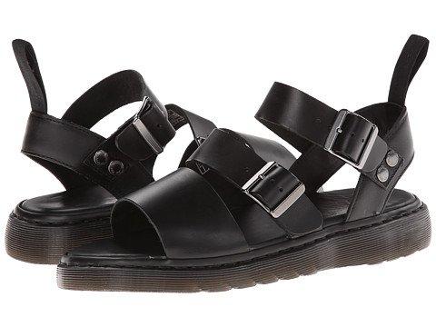 (ドクター マーチン) Dr. Martens Gryphon Strap Sandal Mens Black Brando メンズ 男性 用 サンダル 靴 スニーカー [並行輸入品]