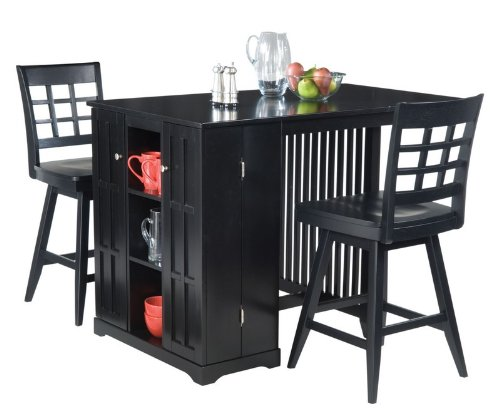 Superb We Are Actually Fired Up To Be Able To Generate The Superb 3pc Counter  Height Bar Table And Stools Set In Ebony Finish To You
