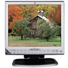 17 HP 1730 DVI LCD Monitor w/Speakers (Silver)