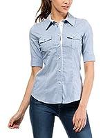 MOE Camisa Mujer (Azul)