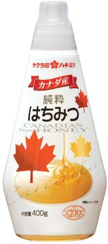 サクラ印 カナダ産純粋はちみつ 400g