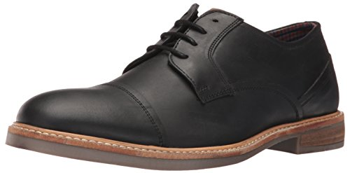 ben-sherman-mens-luke-oxford-black-oiled-95-m-us