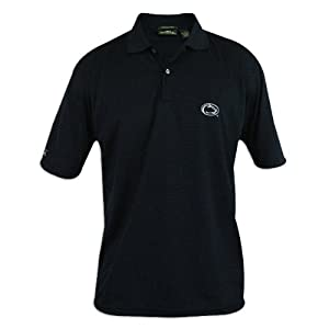 Penn State Nittany Lions Mens Antigua Control Desert Dry Blue Polo by Antigua