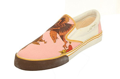 Ed Hardy, Sneaker donna Rosa Rosa/Beige, Rosa (Rosa/Beige), 40