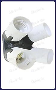 Studiohut 1 to 4 AC Lamp Holder Adapter