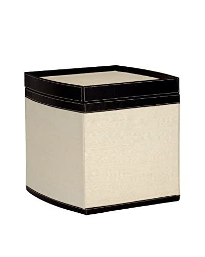 Organize It All Stackable Storage Box, Tan/Brown