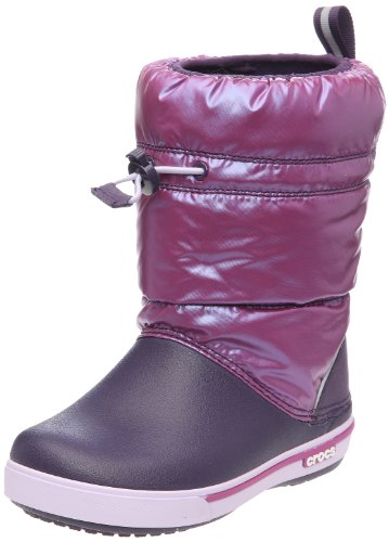 Crocs Junior Crocband Iridescent Gust Boot Viola/Mulberry 12772-54S-131 1 UK