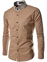 TheLees DCH Mens unique double collar shirts