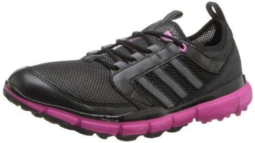 adidas Women's Adistar Climacool Golf Shoe,Black/Carbon/Bahia Magenta,7.5 M US