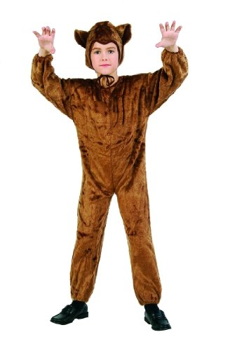 Children's Bear Costume (Size:Small 4-6)