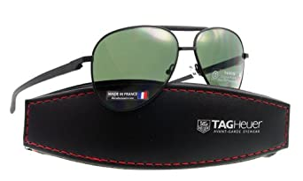 TAG Heuer Sunglasses TH 0881 BLACK 301 AUTOMATIC POLARIZED