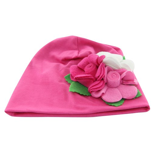 Baby Hats With Flowers
