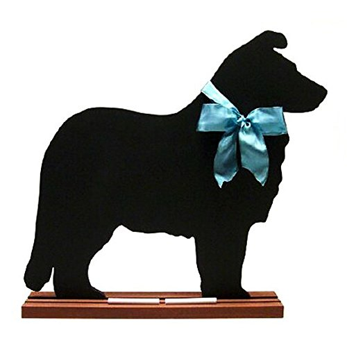 shetland-sheepdog-blackboard-table-model