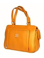Designer Branded Faux Leather Ladies Handbag Shoulder Bag - B0148QL2KI