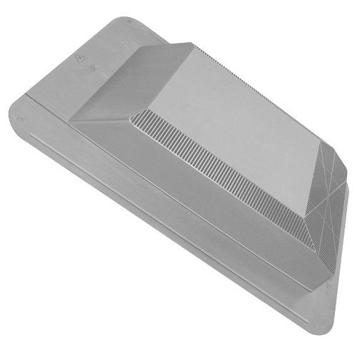 Duraflo 60PRO50SLG 50-Square Inch Weatherpro Slantback Roof Vent, Gray