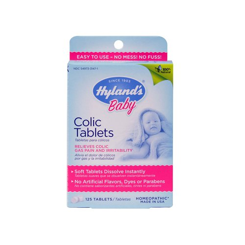 Hylands Homeopathic Baby Colic Tablets 125 Tablets back-766246
