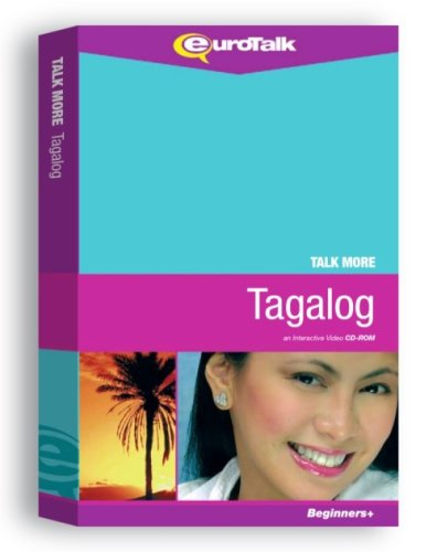 Talk More Tagalog: Interactive Video CD-ROM - Beginners+ (PC/Mac)