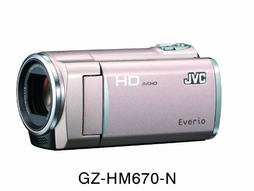 Victor 32GBフルハイビジョンメモリームービー(ピンクゴールド) GZ-HM670-N