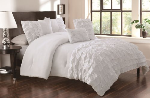 White Bedding King 1275 front