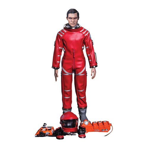 Keir Dullea as Red Discovery Astronaut 1:6 Scale Deluxe Action Figure (2001 A Space Odyssey Toy compare prices)