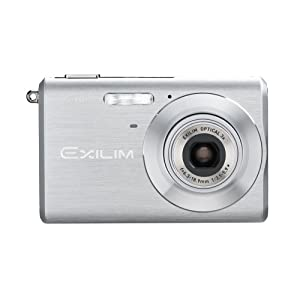 Casio Exilim EX-Z60 6MP Digital Camera with 3x Optical Zoom (Silver)