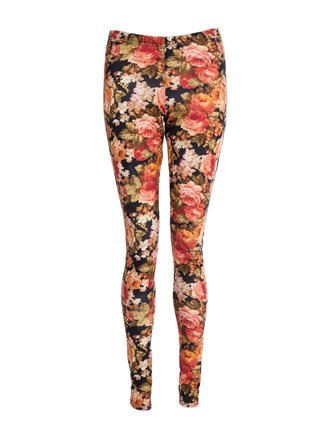 Miso Floral Leggings - Multi - Womens
