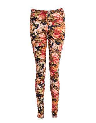 Miso Floral Leggings - Multi - Womens