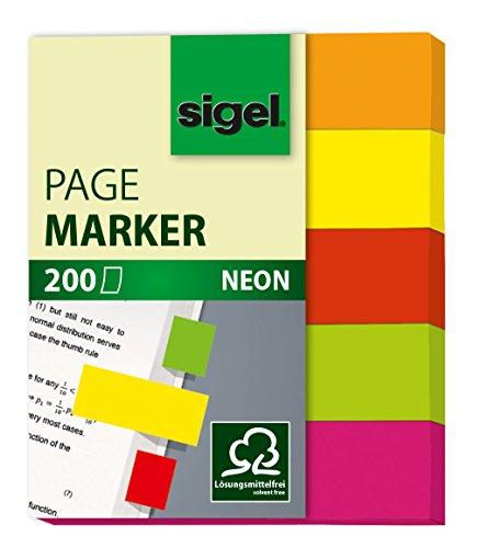sigel-neon-senalizadores-de-quita-y-pon-200-hojas-12-x-50-mm-multicolor