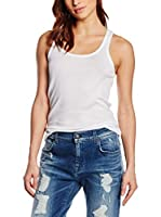 7 For All Mankind Top Basic (Blanco)