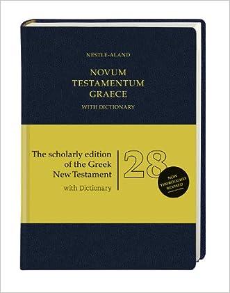 Novum Testamentum Graece-FL written by Institute for New Testament Research