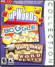 Boggle/Upwords/Hangman Word Hunter Collection