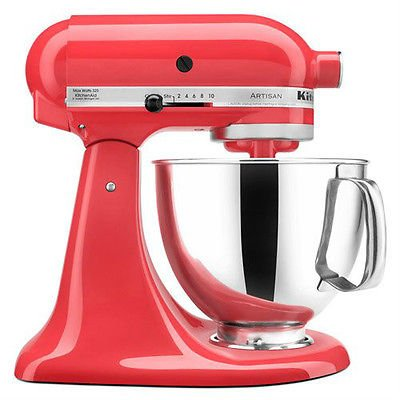 Kitchenaid Tilt Back Head Stand Mixer 325 Watt 5 Quart Ksm150pswm Water Melon