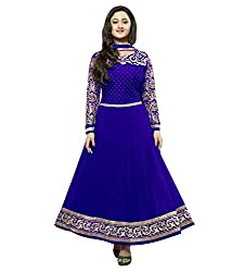Stutti Fashion Exclusive BlueColor Semi Stitched Dress Material