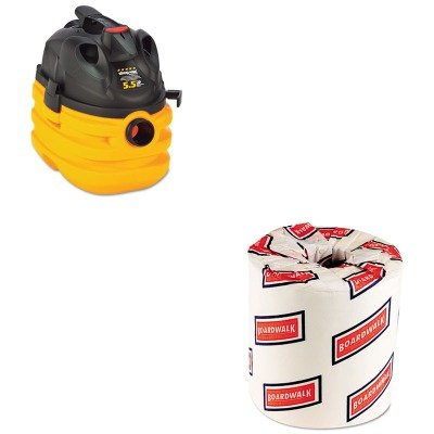 Kitbwk6180Sho5872410 - Value Kit - Shopvac Heavy-Duty Portable Wet/Dry Vacuum (Sho5872410) And White 2-Ply Toilet Tissue, 4.5Quot; X 3Quot; Sheet Size (Bwk6180) front-447476