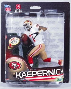 Colin Kaepernick San Francisco 49ers (White Jersey) NFL 33 McFarlane CLARKtoys Exclusive at Amazon.com