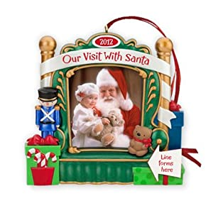 Hallmark Our Visit With Santa Photo Holder 2012 Hallmark Ornament at Sears.com