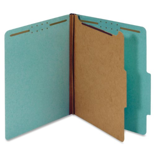 globe-weis-pendaflex-100-recycled-classification-folders-2-5-cut-tab-1-divider-2-inch-embedded-faste